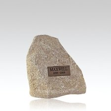 Pet Limestone Rock Urn Small